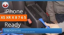 iPhone 7/6/5 Replace factory iPod dock Volkswagen Jetta GTI Rabbit EOS R32 Golf
