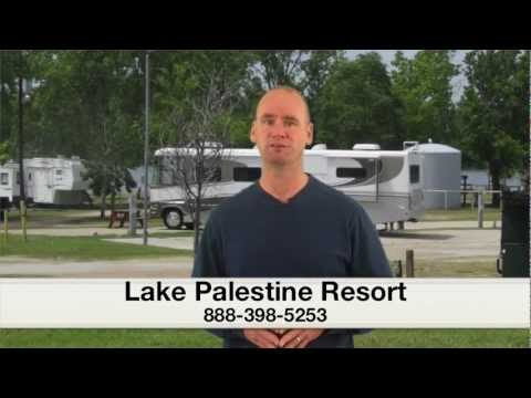 Best RV campgrounds in East Texas- Check in time-Lake Palestine