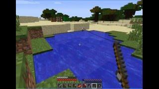 Майнкрафт: рыбалка в пустыне