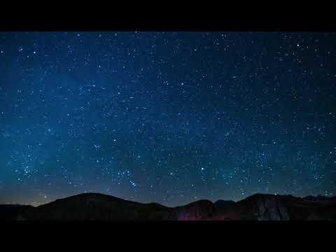 Night Sky Stars Falling Animated Video Background thumbnail