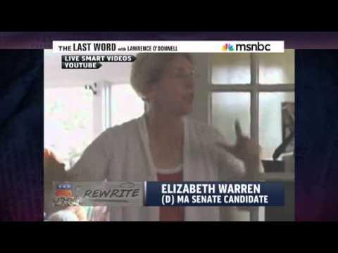 The Last Word - Elizabeth Warren Nails It!