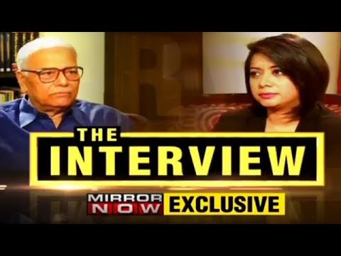 Yashwant Sinha in an exclusive Interview With Faye D'Souza