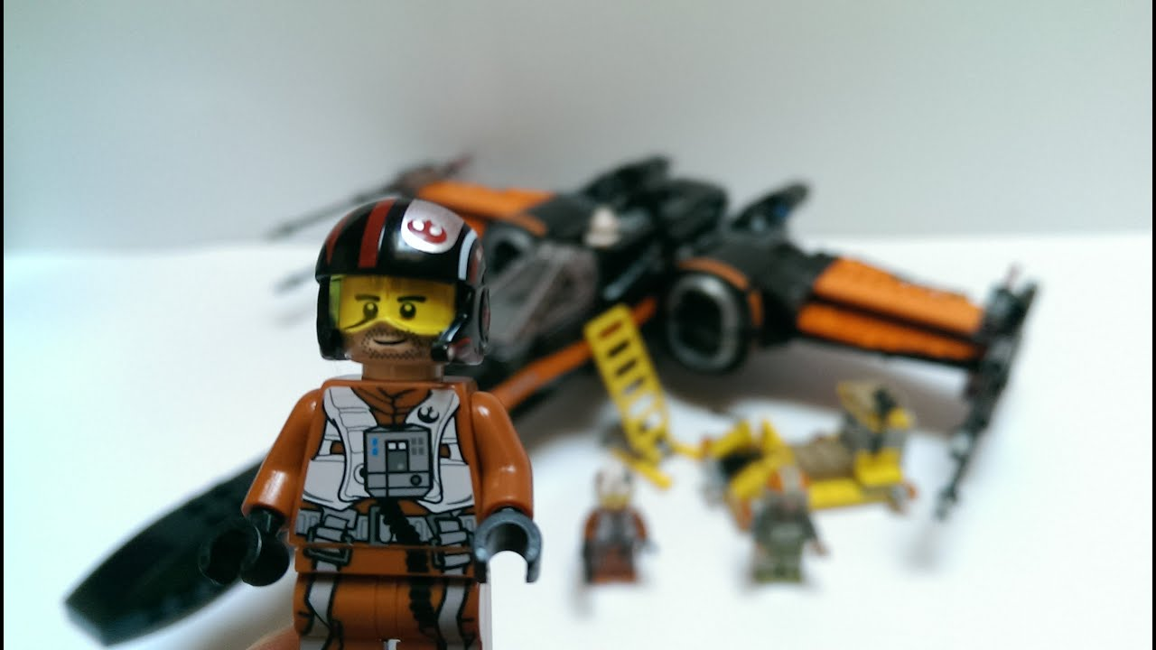 Lego Star Wars Poes X Wing Fighter Review 75102 German Youtube Poeamp039s
