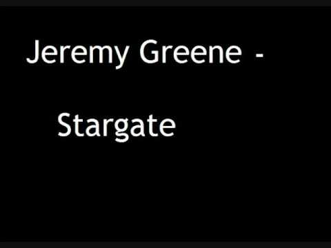 Jeremy Greene - STARGATE NEW SINGLE