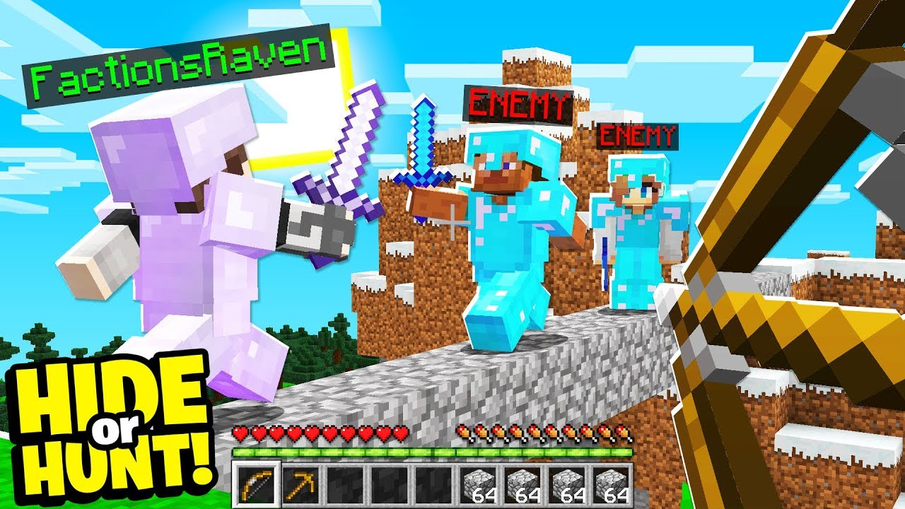 Download They want to find our SECRET Minecraft base.. - Hide Or Hunt #4