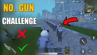 Pubg Mobile Zombie Mode No Gun Challenge ! Zombie Mode Is Crazy