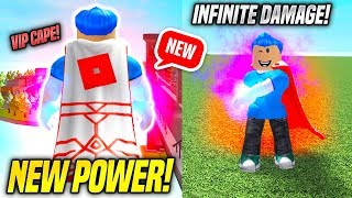 *NEW* CAPE AND INSANE SOUL ATTACK POWER IN SUPER POWER TRAINING SIMULATOR UPDATE! (Roblox)