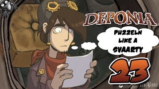 Let´s Adventure: [Deponia] Part 23 Puzzeln like a Svaarty