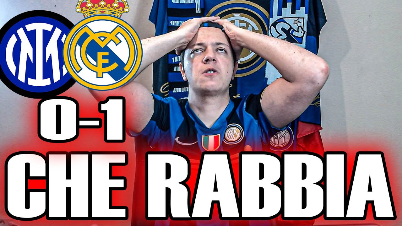 [SFOGO] COSI FA TROPPO MALEEEEE!!! IMMERITATO!!!!!! INTER 0-1 REAL MADRID
