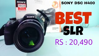 SONY DSC H400 unboxing overview best budget by Camera
