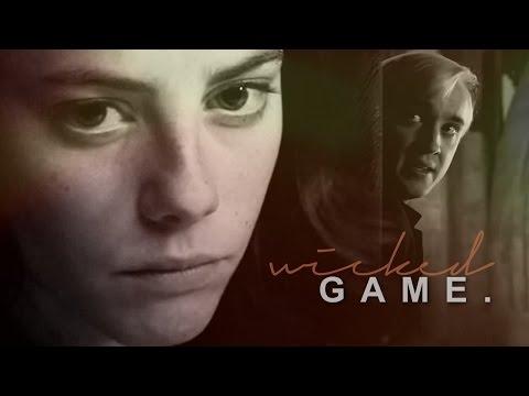 fem!harry/draco | wicked game