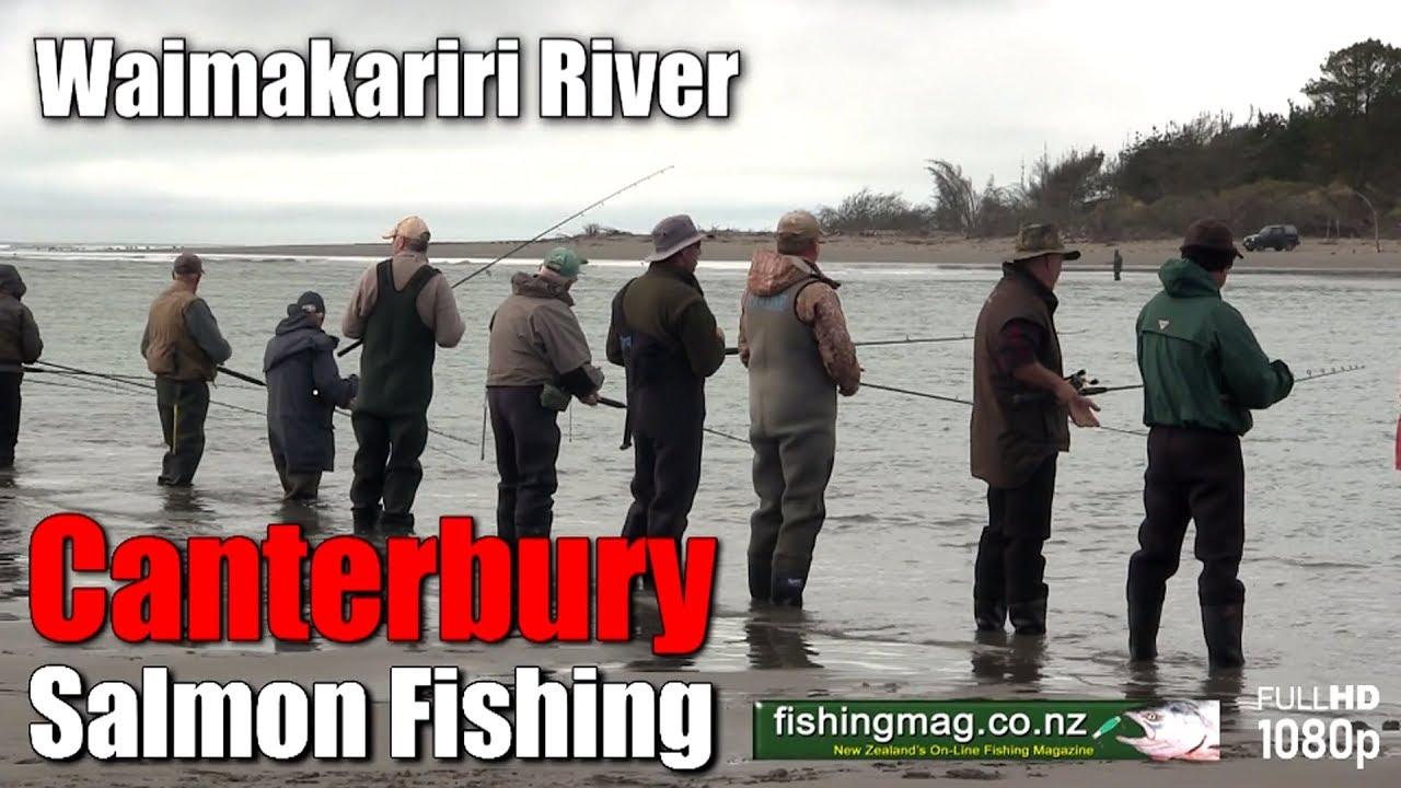 Rangitata River Salmon Fishing | Fishingmag co nz