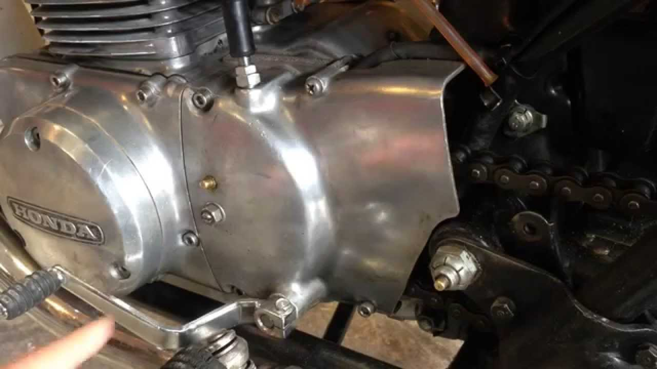 maxresdefault cb350 clutch adjustment procedure youtube 1970 cb750 clutch diagram at alyssarenee.co