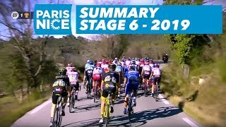 Summary - Stage 6 - Paris-Nice 2019