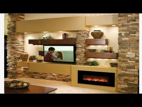 Accent Walls Of Decoration For Tv Wall Unit For Living Room Brick Style Wall Design For Tv Wall Unit Youtube