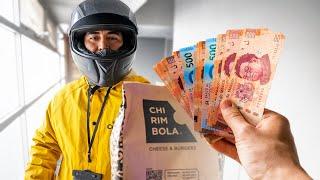 LE DOY $10,000 DE PROPINA AL REPARTIDOR QUE LLEGUE PRIMERO