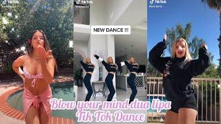 Blow your mind dua lipa Tik Tok Dance