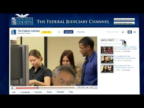 Introducing the Federal Judiciary Channel