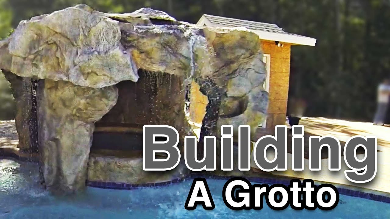 Backyard Waterfalls Building A Grotto