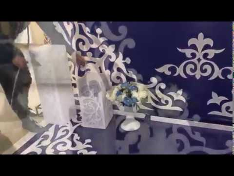 Фотозона на юбилей баннер подсветка SA_EVENT_