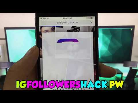 Free Instagram followers Tutorial : How to get unlimited followers for instagram  Working Aug2017 