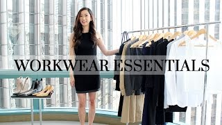 Work Wardrobe Essentials, workwear capsule wardrobe, workwear essentials, office style, office outfits