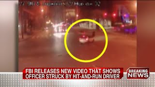 FBI releases new video of officer hit-skip