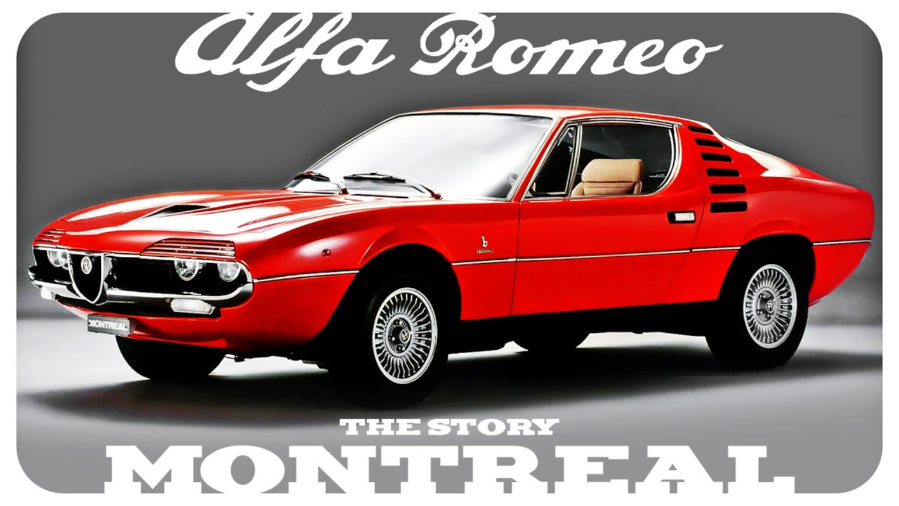 The Story Of The Alfa Romeo Montreal