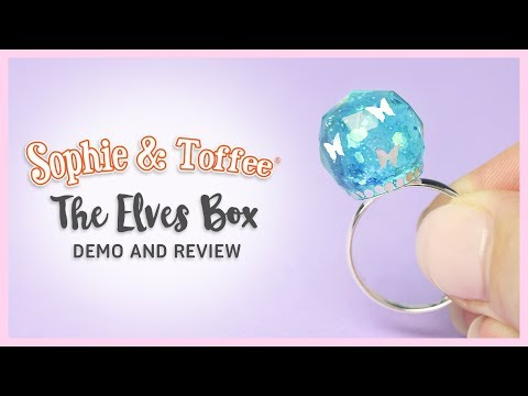 Watch Me Resin ● Sophie & Toffee April Elves Box REVIEW & DEMO