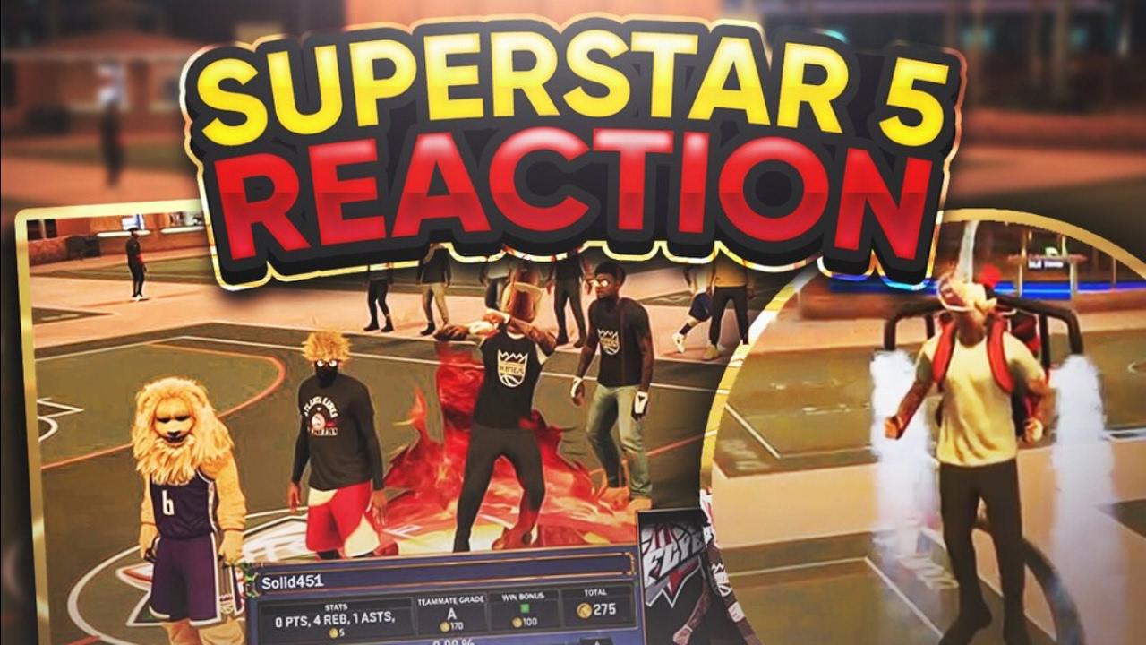 Download Hilarious Superstar 5 REACTION + BUYING JETPACK 😱 - NBA 2K17