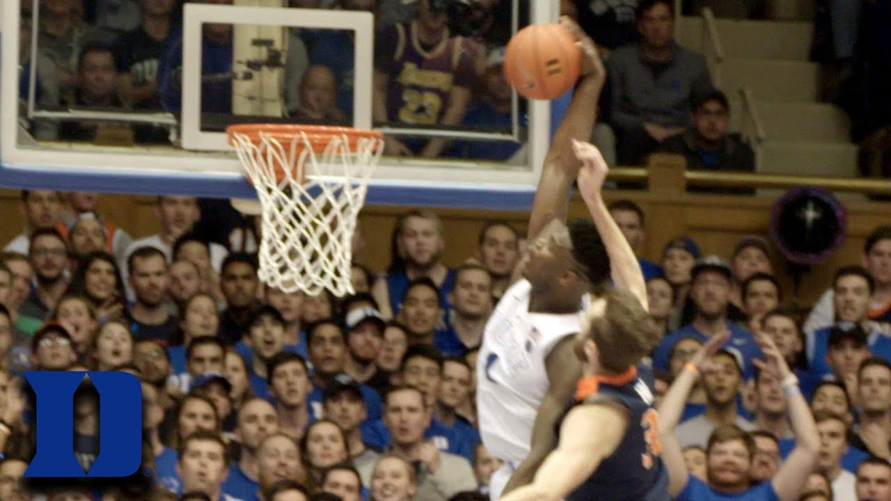 Zion Williamson's Dunk On Virginia In Super Slomo | What You Missed