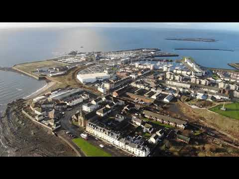 Ardrossan South Beach flyover