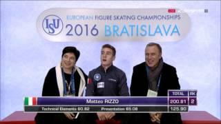 Фигурное катание  Чемпионат Европы 2016  Мужчины  Произвольная программа(, 2016-01-29T22:08:43.000Z)