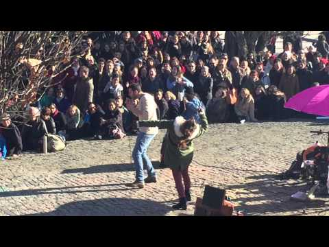 Mauerpark Berlin Sunday-karaoke! Crazy performance!! Must see!