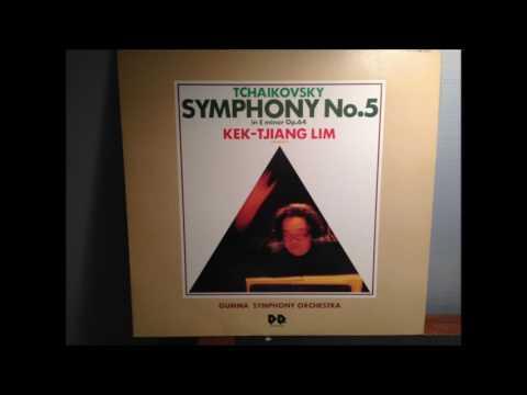 Tchaikovsky Symphony No.5 - Kek-Tjiang-Lim / Gumma SO ( from LP )