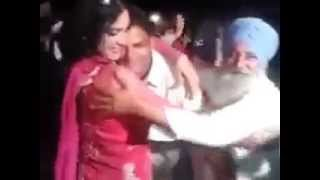 Punjabi babe full masti with dancer | bhangra
