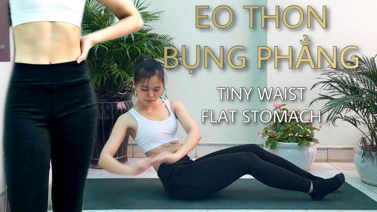 10 phút EO THON GỌN – dành cho người mới tập luyện | 10 min SLIM WAIST | Minh Ngoc