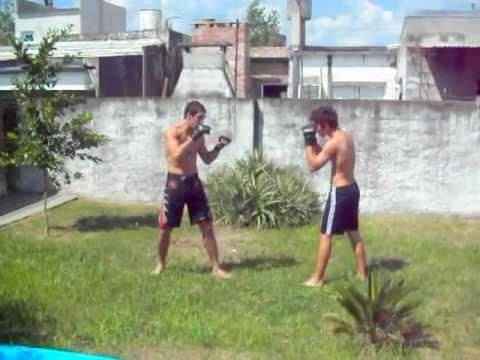 MMA momento Of fights Juan Cruz Ronchi & Juan Bere...