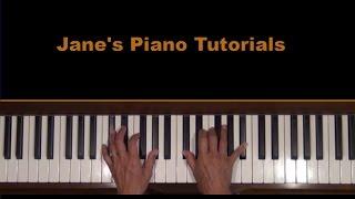 Dvorak Humoresque Op. 101, No. 7 Piano Tutorial