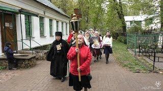 Крестный ход вокруг города Пскова