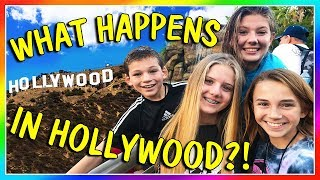 WHAT HAPPENS IN HOLLYWOOD? | We Are The Davises