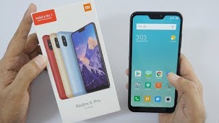 Xiaomi Redmi 6 Pro Smartphone Unboxing & Overview