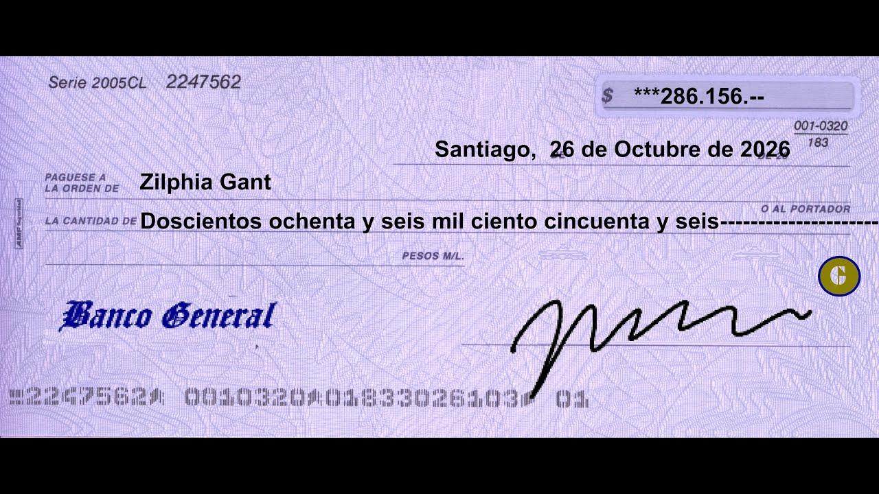 formato para cheques en excel