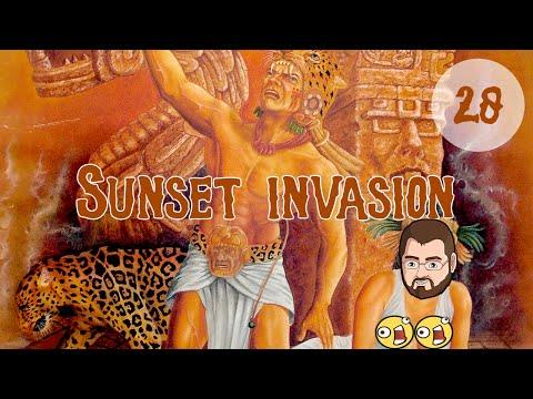 Sunset Invasion 28 - Primed - Aztec Let's Play Europa Universalis 4 Mare Nostrum