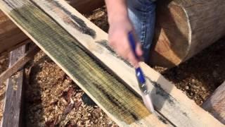 Пропитка для дерева Megasept. Тест  на пиломатериалах. Отбеливатель древесины.(, 2015-10-07T13:23:25.000Z)