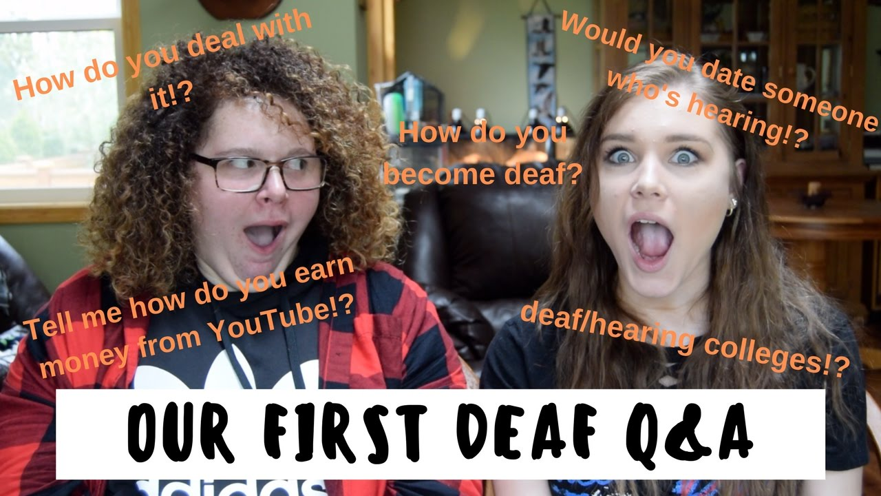 would you date a deaf girl