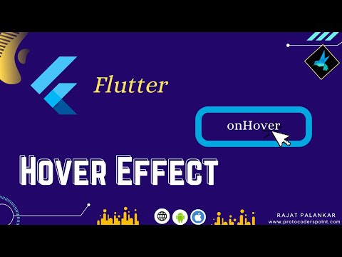 How to implement Hover Effect in flutter web