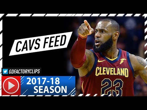 LeBron James Full Highlights vs Hornets 2017.11.15  31 Pts, 8 Ast Cavs Feed