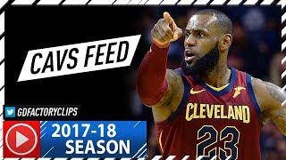 LeBron James Full Highlights vs Hornets (2017.11.15) - 31 Pts, 8 Ast (Cavs Feed)