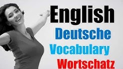 Video#96 Deutsch-Englisch Wortschatz Übersetzung German English Questions Quotes Songs For Kids